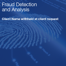 Fraud Detection and Analysis