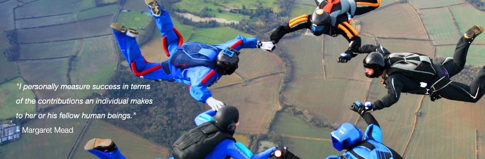 Photograph of Sky Divers